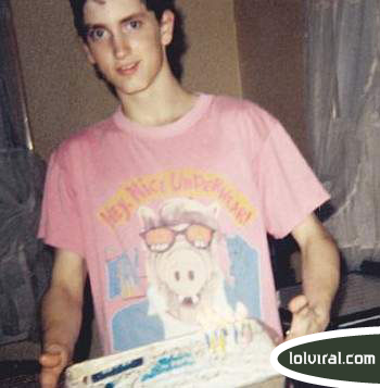 """My album is like, on the list? That's like, cooler than Alf!""- Young Eminem (Source: Lolviral.com)"